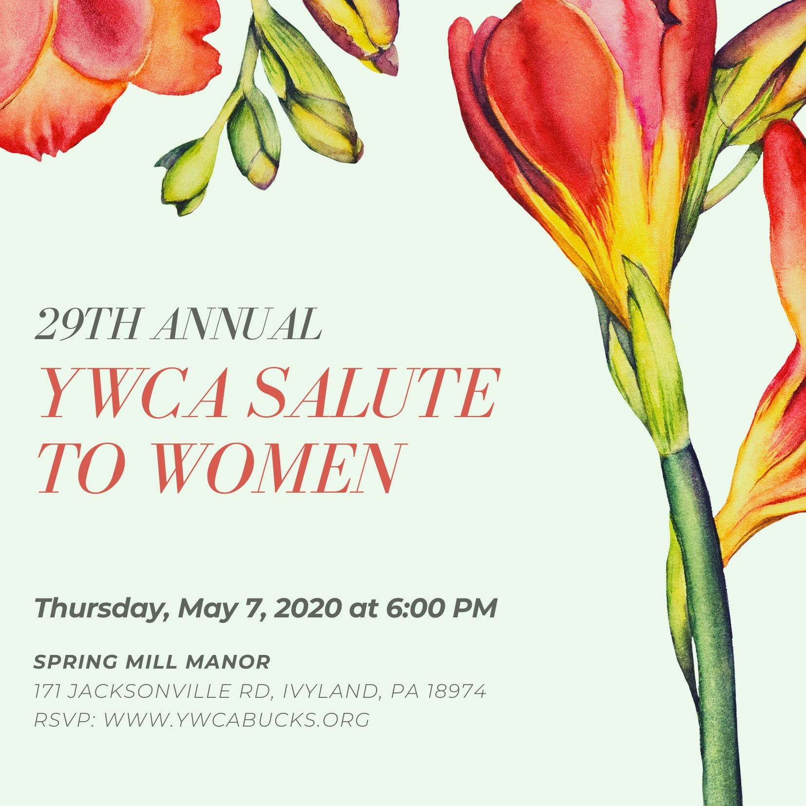 Salute to Women 29th Annual Event @ Spring Mill Manor